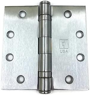 Hager Full Mortise Steel Hinge BB1279 4.5 x 4.5 US26D/652 (Satin Chrome) - Box of 3 Ball Bearing hinges
