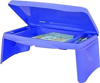 Bureau Pliable pour Ordinateur Portable, Table de Petit-déjeuner, Table de lit, Plateau de Service – Le Bureau Contient Un...