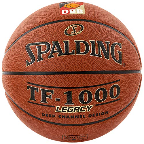 Spalding Basketball TF.-1000 Legacy Indoor/Outdoor Ball mit DBB Logo Größe 7