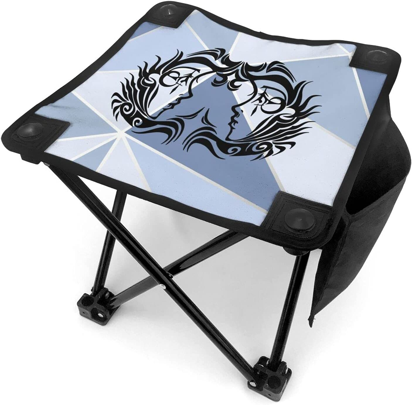 Gemini Camping Stool Ultralight Mini Beauty products Portable Fishing Fold Year-end annual account