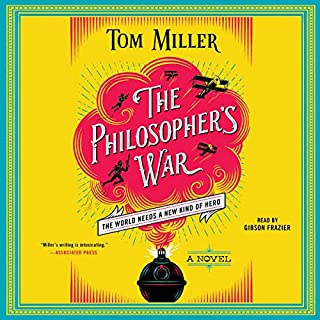 The Philosopher's War audiobook cover art
