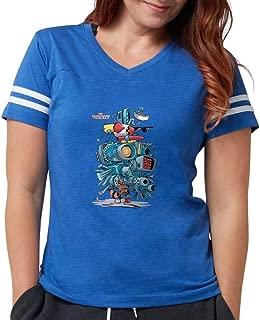 GOTG Rocket Drawing Womens Football Shirt