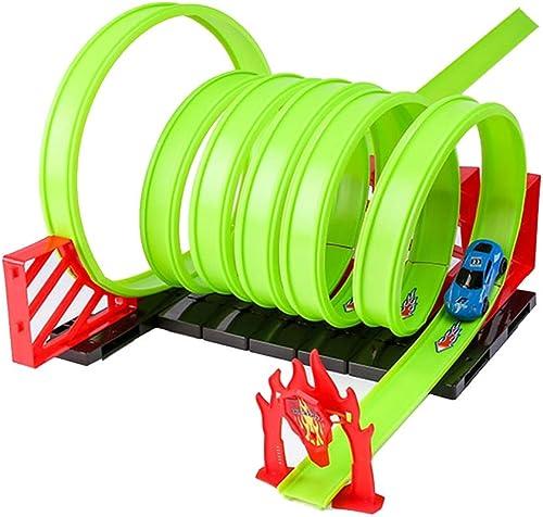 el mas de moda Juguetes Xiaomei Modelo Niños ferroviario Modelo 3-4-5-6 3-4-5-6 3-4-5-6 años de Edad Niño Deportivo Planeañor Pista Circular (Color   B)  cómodo