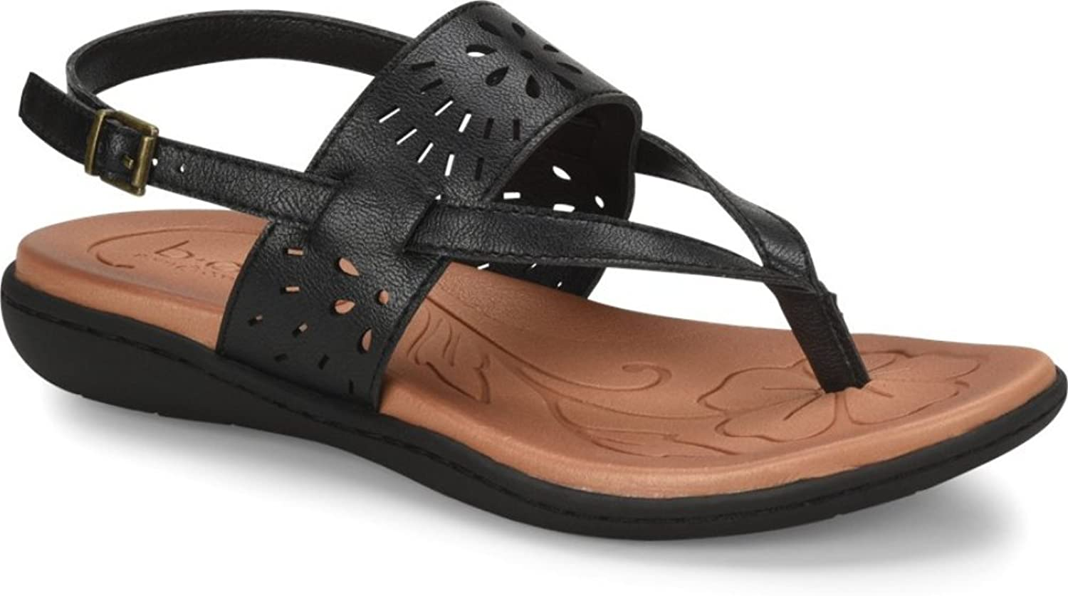 B.O.C. Women's, Clearwater Sandals Black 6 M