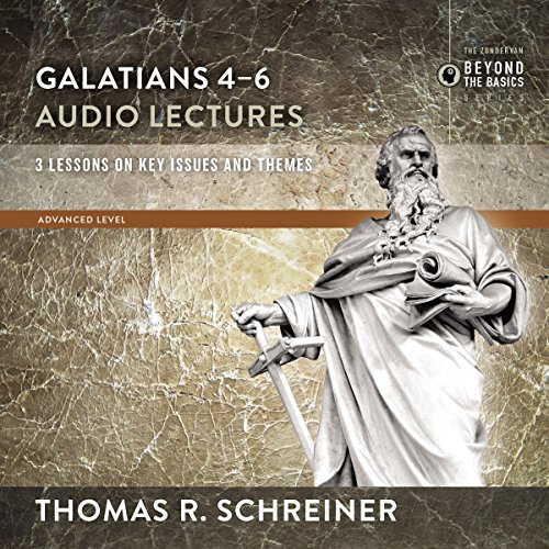 Galatians 4-6: Audio Lectures                   By:                                                                                                                                 Thomas R. Schreiner                               Narrated by:                                                                                                                                 Thomas R. Schreiner                      Length: 2 hrs and 35 mins     Not rated yet     Overall 0.0