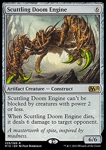 Magic The Gathering - Scuttling Doom Engine (229/269) - Magic 2015