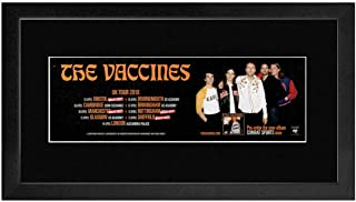 Stick It On Your Wall The Vaccines - UK Tour 2018 Framed Mini Poster - 1x1cm