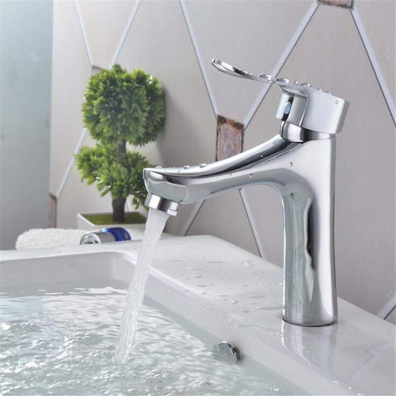 Basin Mixer Tap Copper Faucet Bathroom Washbasin Hot and Cold Faucet Bathroom Special Hot and Cold Single Hole Faucet
