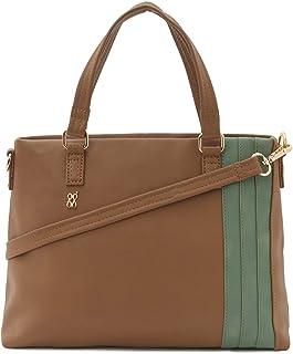 Baggit Autumn-Winter 2020 Faux Leather Women's Tote Handbag (Yellow) (Kreya)
