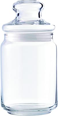 Ocean Pop Jar Set, 650ml, Set of 6, Transparent