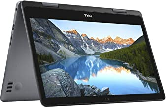 """Latest_Dell Inspiron 2-in-1 5000 14.0"""" HD LED-Backlit Touchscreen High Performance Laptop, Intel Core i3-8145U Processor,8..."""