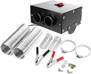 cherrysong Car Portable Heater Defroster Fan Universal DC 12V 500W, Ceramic Heating Heater Fan Defroster Demister,Heating Quickly, Low Noise, Defrost Windscreen Window Demister