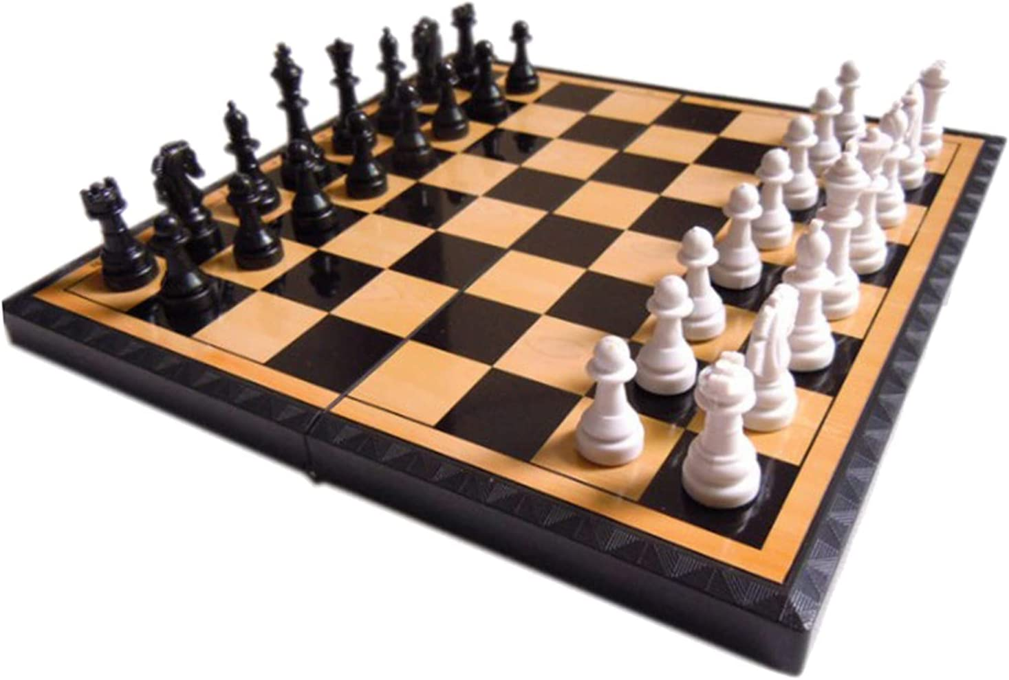 LTGJJ Chess Set Board Game Fold outlet Classic 7.87 New mail order Inch Mini