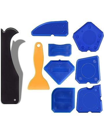 Heavy Duty Metal Calafateo Pistola Sellador de Silicona Adhesivo Aplicador Herramienta DIY Garaje Taller Azul