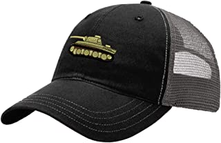 Custom Trucker Hat Richardson WWII Army Military Tank Embroidery Unit Cotton