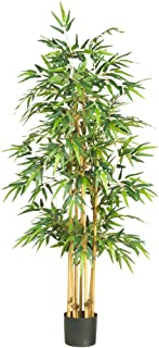 Nearly Natural 5253 Bamboo Silk Tree, 64-Inch, Green