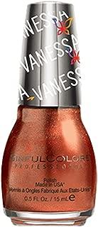 SinfulColors Nail Polish Vanessa Hudgens Collection, #2478 Mystical (shimmery bronze shade), 0.5 Fl Oz