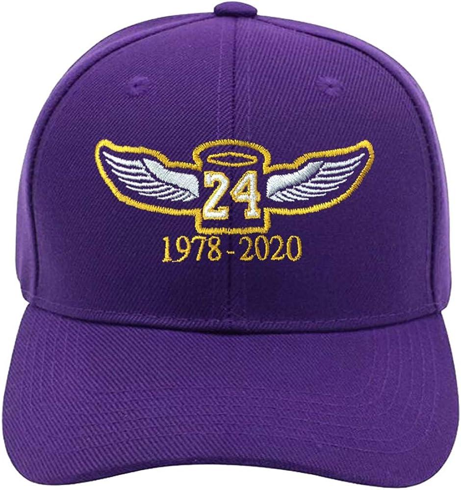 Los Angeles Legend Baseball Cap Embroidery Hats Basketball Sport Caps Black Mamba 24 Cotton Dad Cap for Men Women