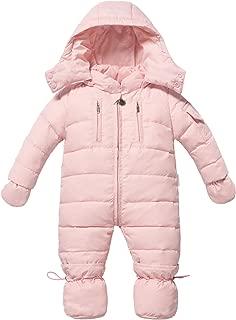 Infant Newborn Baby Hoodie Down Jacket Jumpsuit Pram Snuggly Snow Suit
