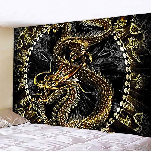 KHKJ Tarot Adivinación decoración del hogar Tapiz de brujería Mandala decoración de Pared Hippie Bohemia Hoja Decorativa A10 200x180cm
