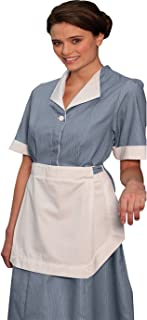 Junior Hidden Placket Housekeeping Dress