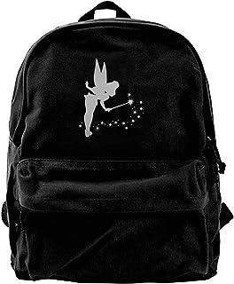 Mochila de lona Tinkerbell Platinum para gimnasio, senderismo, portátil, bolsa de hombro para hombres y mujeres