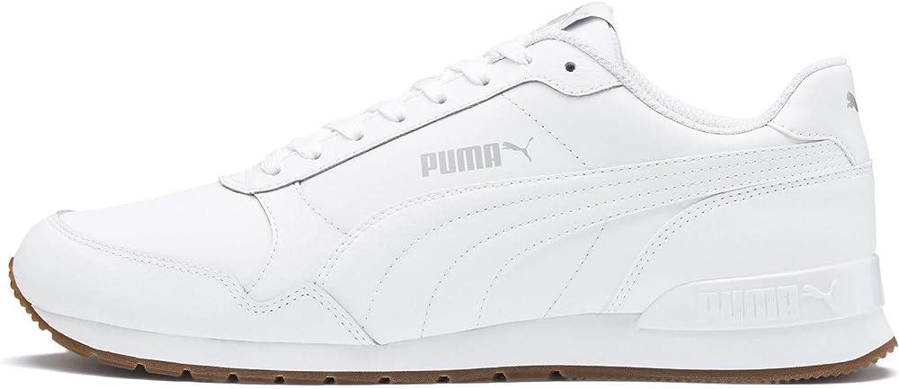 Puma st runner v2 full l, scarpe sneakers unisex,  in pelle 365277A