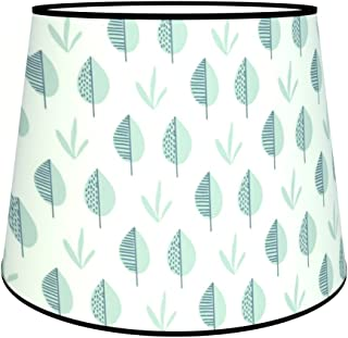 Multicoloured 7111303486996Cone Morganne Floor Lamp, Fabric/PVC Shade