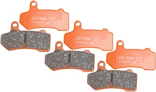 EBC Brakes EBPCK1015 Complete Semi-Sintered V-Pads Brake Pad Change Kit