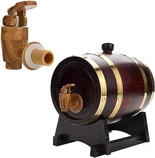 ZGQJT Tonneau de Vin Vendange en Bois de Chêne Bois de Chêne Tonneau de Vin Vendange for Le Port de Bière Whiskey Rum (Col...