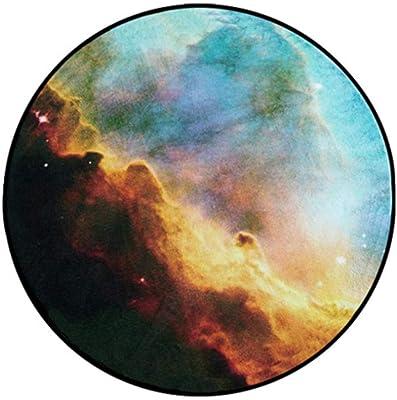 Empty Tapis Galaxy Galaxy 3D pour Le Salon Tapis Tapis Univers décoratif décoratif antidérapant Tapis Rond-Diameter_60cm