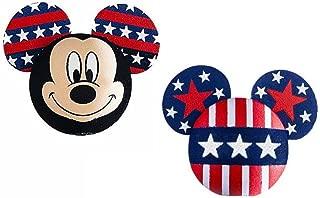 Disney Mickey Mouse American Pride Antenna Topper / Pencil Topper