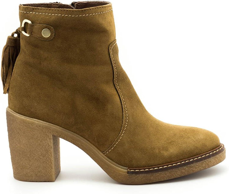 ALPE 36811102 Stiefelette Camel Leather