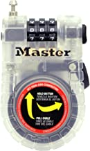 Master Lock Set Your Own Combination Bike Lock, 4605D
