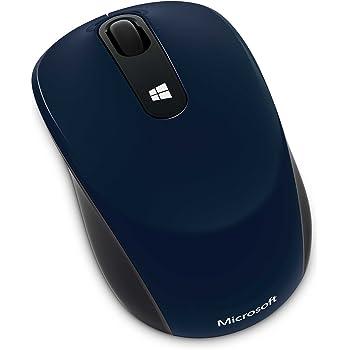 マイクロソフト マウス ワイヤレス/小型 ブルー Sculpt Mobile Mouse 43U-00038