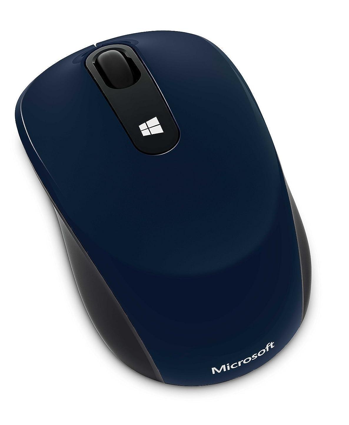 チチカカ湖講義項目マイクロソフト マウス ワイヤレス/小型 ブルー Sculpt Mobile Mouse 43U-00038