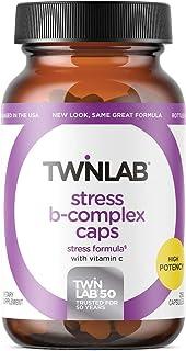 TwinLab Stress B Complex with Vitamin C 250 Caps