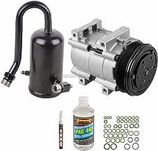 AC Compressor w/A/C Repair Kit For Ford F150 F250 F-150 F-250 Bronco 5.0L 5.8L 302 351 V8 1990 1991 1992 1993 - BuyAutoParts 60-81996RK New