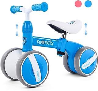 comprar comparacion Peradix Bicicleta Sin Pedales para Niños y Niñas,Bici Sin Pedales de Manillar y Sillín Ajustables para Niño 1-3 Año Juguet...