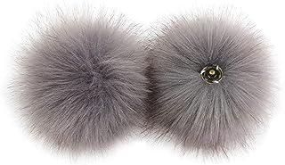 Mentin DIY - Pompón de pompón con botón para tejer