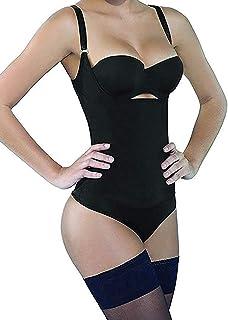 Women Shapewear Tummy Control Fajas Colombianas Open Bust Bodysuit Slimmer Body Shaper
