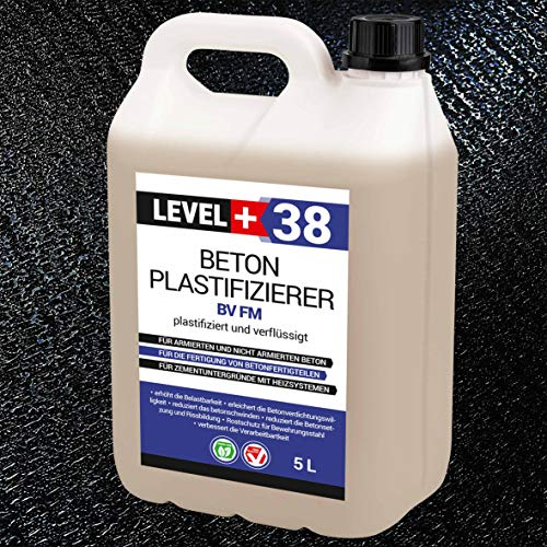 5 L Beton Plastifizierer Fließmittel Betonverflüssiger Zusatzmittel Estrich Zusatzmittel Betonfließmittel RM38