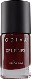 ODIVA NAIL POLISH 11 ML (10 BURGUNDY WINE)