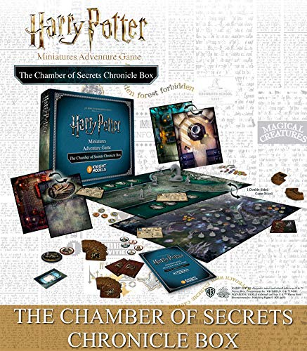 Knight Models Juego de Mesa - Miniaturas Resina Harry Potter Muñecos The Chamber Of Secrets Chronicle Box version inglesa