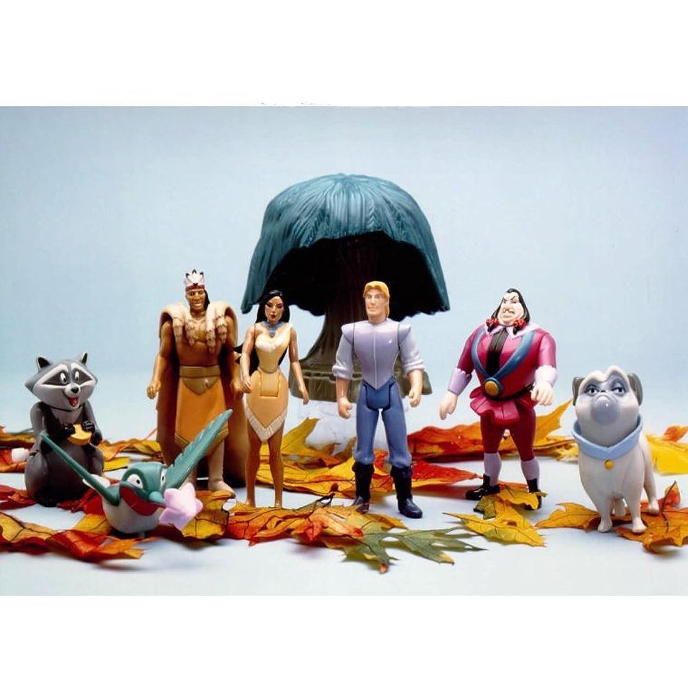 Pocahontas Burger King Toys Full Set
