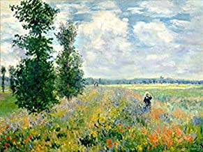 Painting by Numbers DIY Oil Painting Sea of Flowers Canvas Print Wall Art Decoration