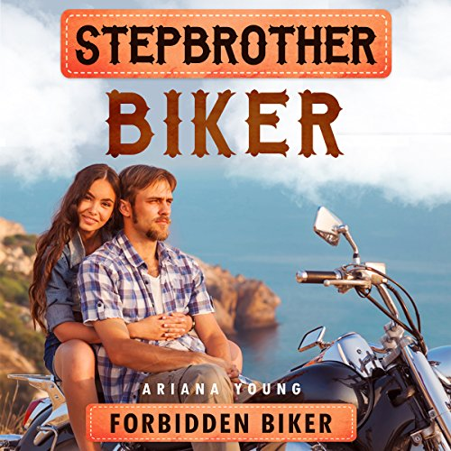Forbidden Biker: Stepbrother Biker audiobook cover art