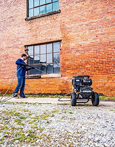 SIMPSON PowerShot 4200 PSI at 4.0 GPM HONDA GX390 with AAA Industrial Triplex Pump Cold Water Professional Gas Pressure Washer