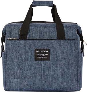 PPLAS Sac d'isolation pour Hommes à emporter à l'épaule Bag d'épaule Sac de Refroidisseur de Grande capacité Thermo Sac