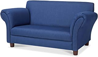 Melissa & Doug Child's Sofa (Blue Denim Children's Furniture, 34.4